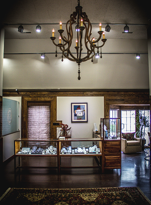 Burnell's Jewelry Inside Store