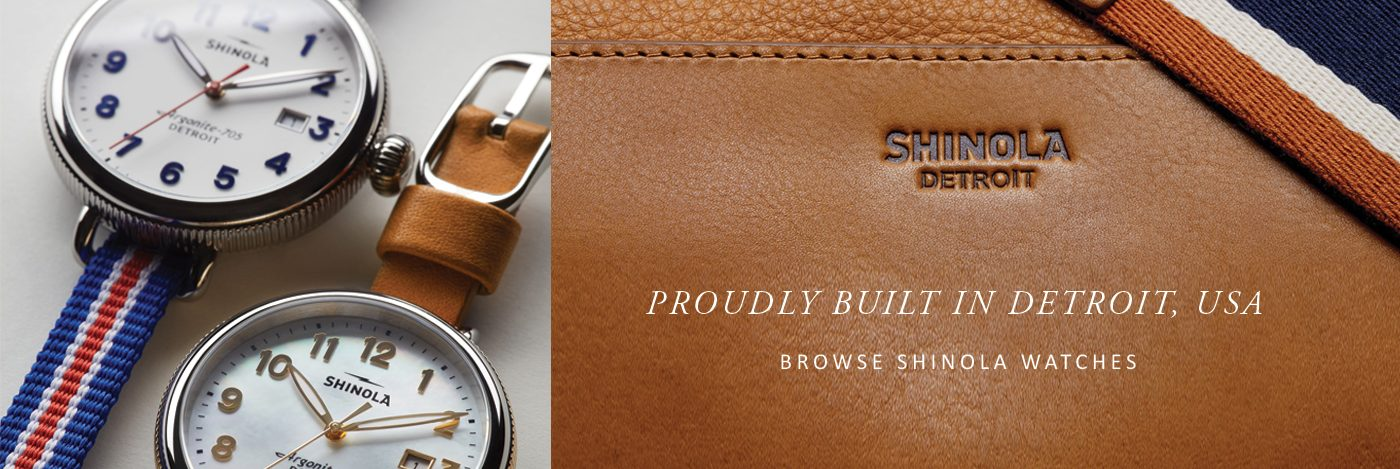 Browse Shinola watches